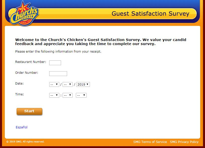 Church's Chicken Survey