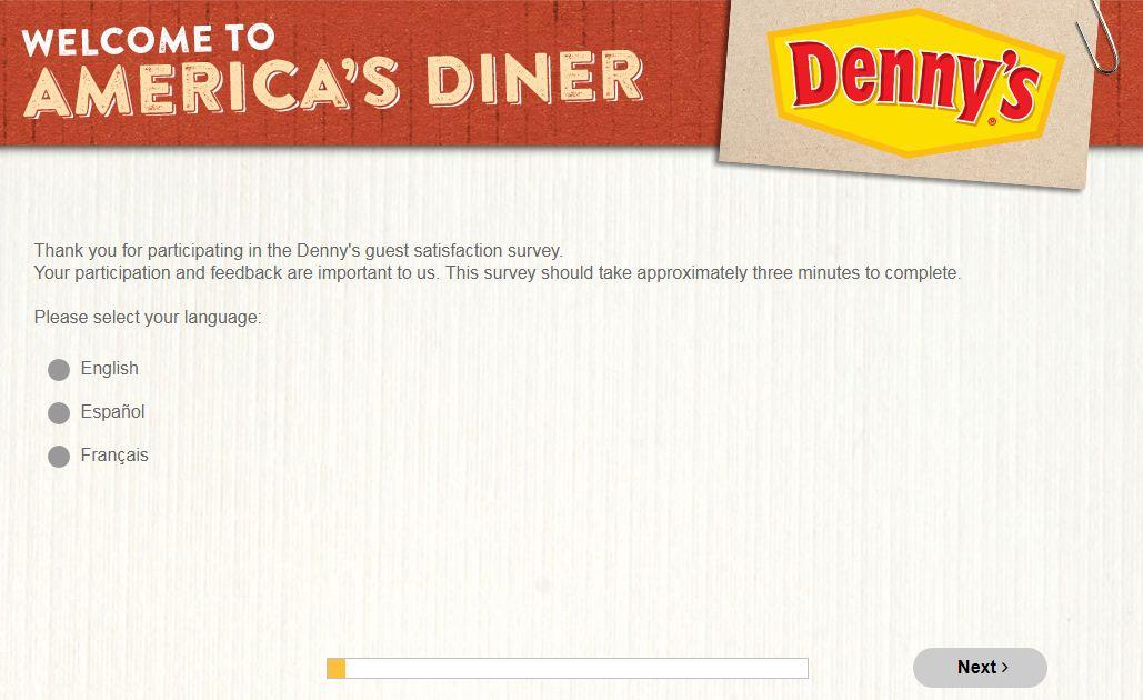 Denny's Survey