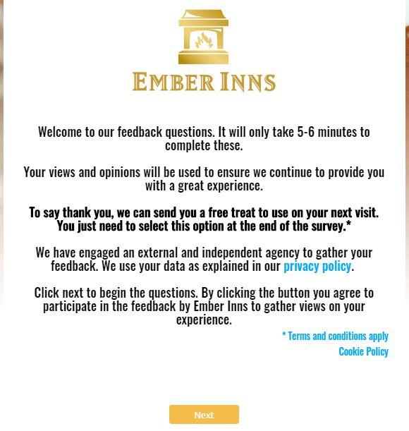 Ember Inns Survey