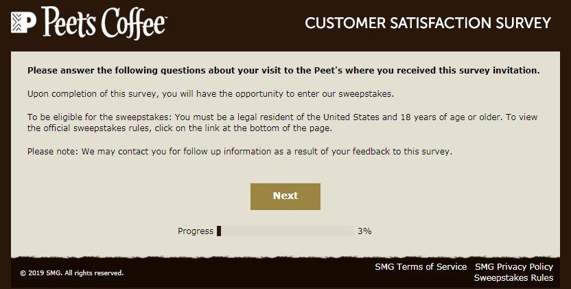 Peet's Listens