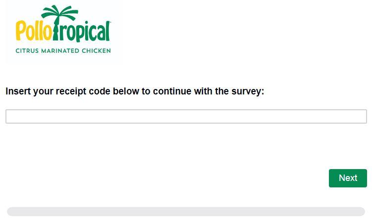Pollo Tropical Survey