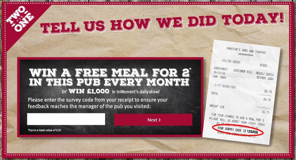 Marston's Inns and Taverns Survey