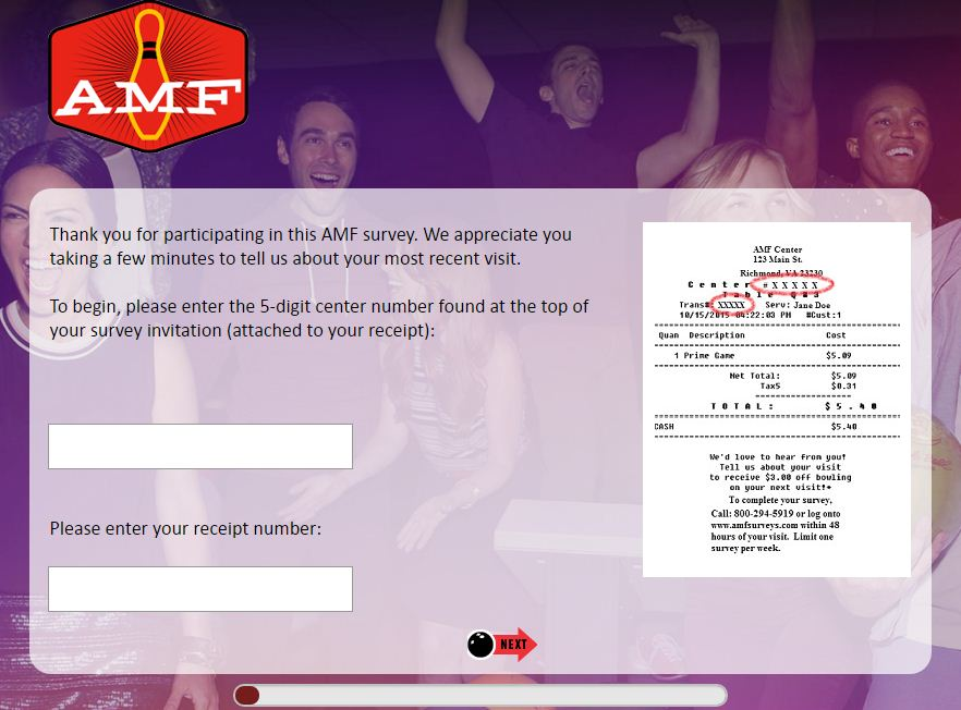 AMF Bowling Survey
