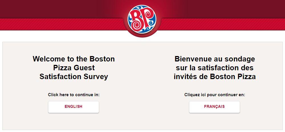Boston Pizza Survey