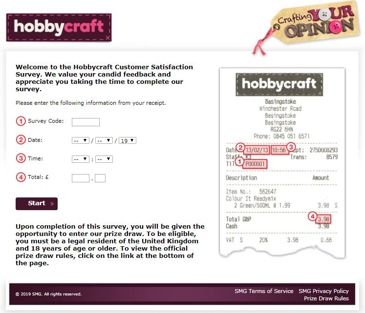 Hobbycraft Survey