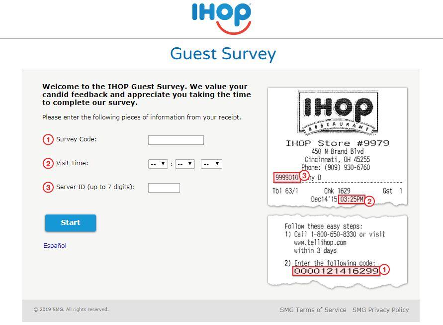 IHOP Survey
