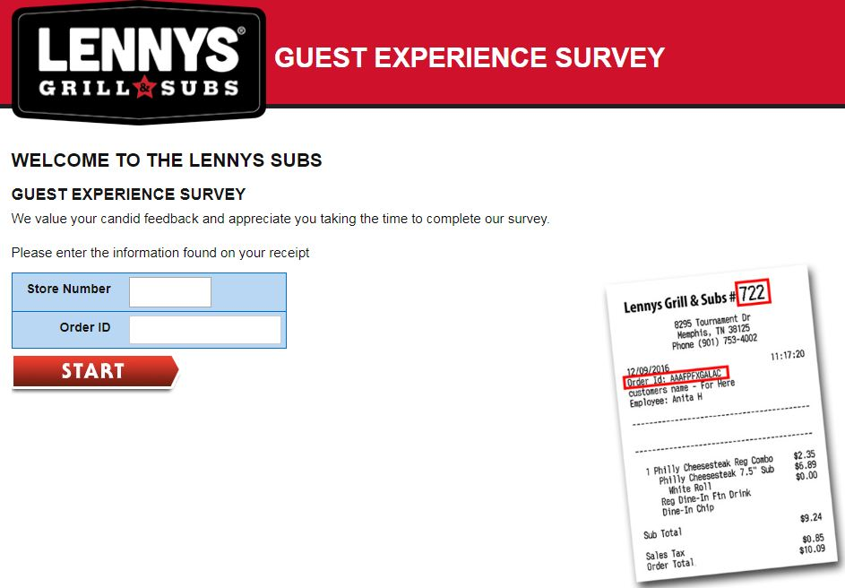 Lenny's Survey