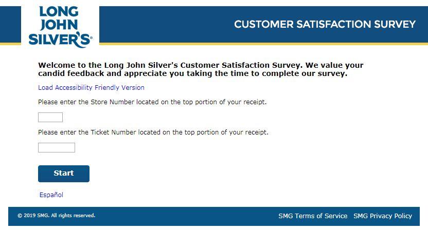 Long John Silver's Survey