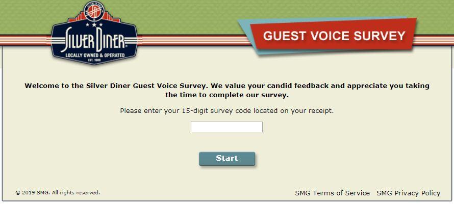 Silver Diner Survey