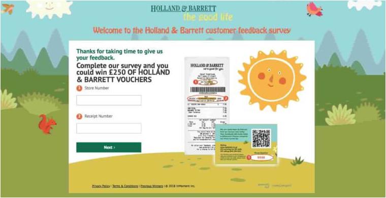 www.myhbvisit.co.uk Survey