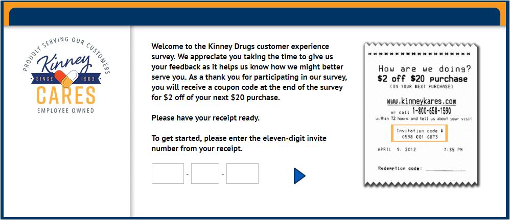 Kinney Drug Guest Experience Survey