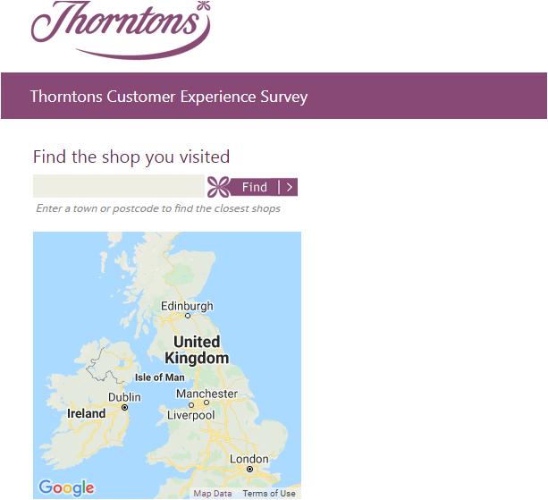 Thorntons Customer Survey