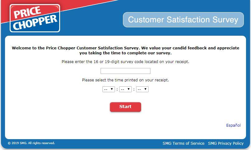 Price Chopper Survey