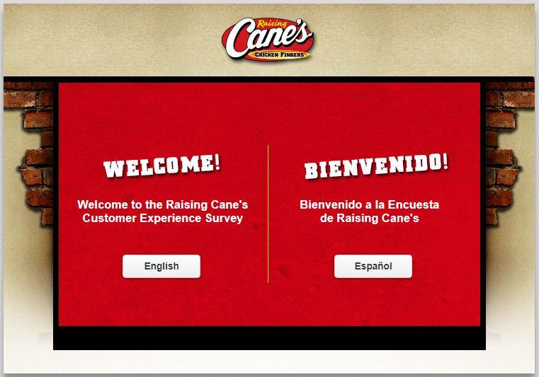 Raising Cane's Survey