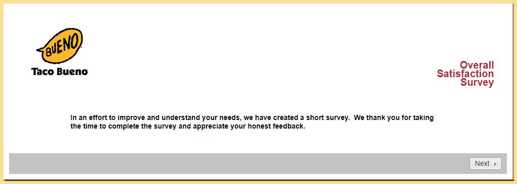 Bueno Survey