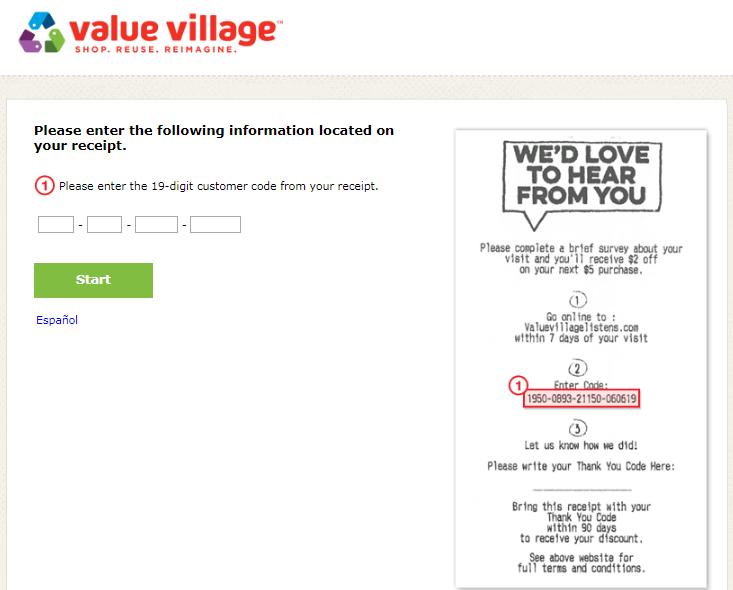 Village Inn Customer Satisfaction Survey